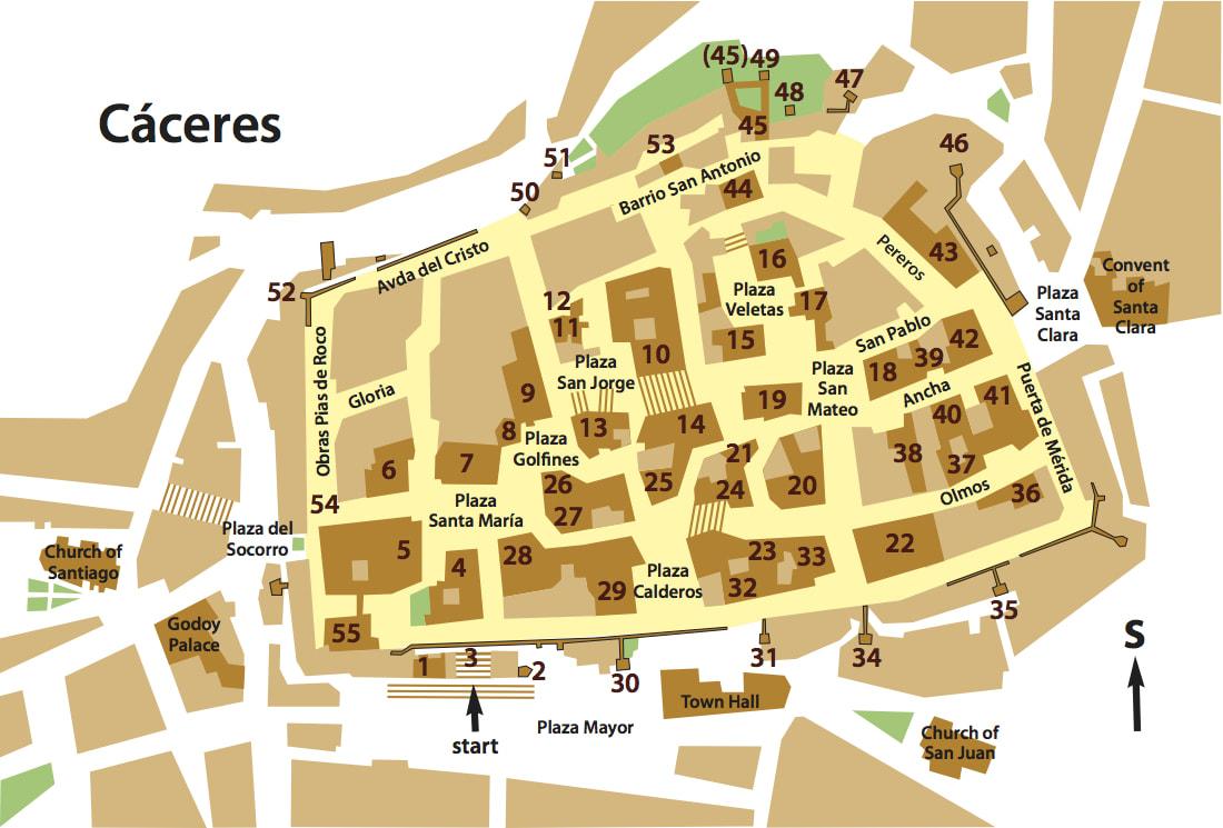 A Walk in a Renaissance City walking extremadura